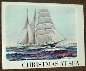 Christmas at Sea.