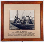 "Crew of ""Baruna."" First to finish Bermuda Race July 1946."