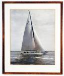 [Twelve meter sloop.] Moyana. 12/K3. Cowes