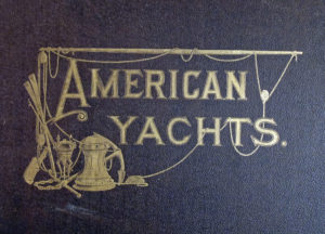 Front cover of the Cozzens portfolio American Yachts