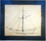 Sloop Providence of 1776. [Sail plan.] [Cazenovia NY]