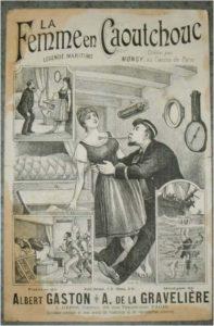 La Femme en Caoutchouc! Légende Féminine... Paroles de Albert Gaston