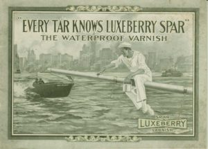 Every Tar Knows Luxeberry Spar. The Waterproof Varnish