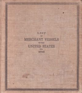 Forty-Eighth Annual List of Merchant Vessels... for... 1916