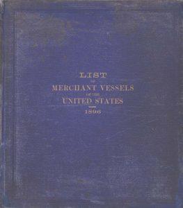 Twenty-Eighth Annual List of Merchant Vessels... 1896
