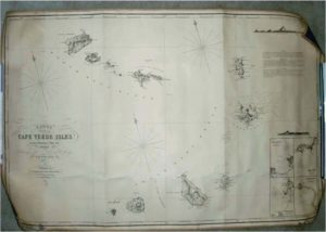 Chart of the Cape Verde Isles.