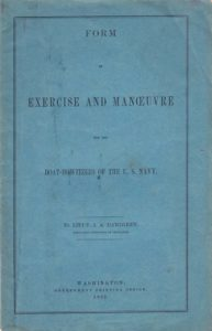 Form of Exercise and Manoeuvre for the Boat-Howitzers of the U.S. Navy.