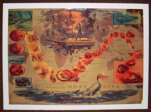 A Map of Moby Dick