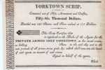 Yorktown Scrip. Estimated Cost of Ship