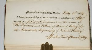 Massachusetts Bank Stock Certificates.