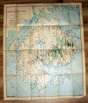 Color Map of Mt. Desert Island
