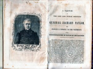 A Sketch of the Life and Public Services of Gen. Zachary Taylor