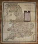 New and Improved Map of England and Wales. Including the Principal Part of Scotland. Whereon are Carefully Delineated all the Mail and Turnpike Roads Direct and Cross with Various Alterations Additions & Improvements Up to the Present Time.