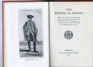 The British in Boston.